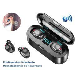 Vezeték nélküli Bluetooth fülhallgató MF9-BT