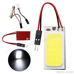 LED panel, nagy fényerejű COB LED, T10/C5W COB-18