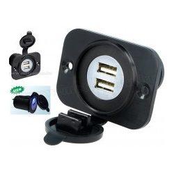 Beépíthető, vízálló USB töltő aljzat, M194BPSBB3
