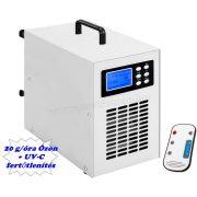 Nagy teljesítményű programozható ózongenerátor UV-C fénnyel M20000-UV-C