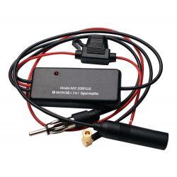 Autó rádió AM FM DAB+ antenna erősítő M208PLUS