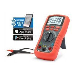 Smart, digitális multiméter Bluetooth kapcsolattal MAXWELL 25521