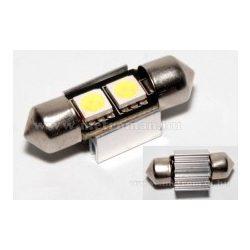 Autós szofita LED izzó, 2 db SMD LED-del, Can-Bus, 31 mm, 31MM2SMD5050LED