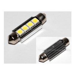Autós szofita LED izzó, 4 db SMD LED-del, Can-Bus, 42 mm, MM-42MM4SMD5050