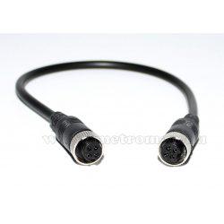 Tolatókamera kábel 4 PIN átalakító kábel M4PINFTOF