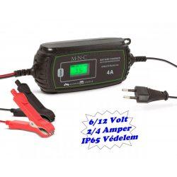 Automata intelligens akkumulátor töltő M5784C-IP65 6/12V 4A