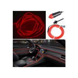 Autós 12V LED dekor szalag piros  MM-7962RL