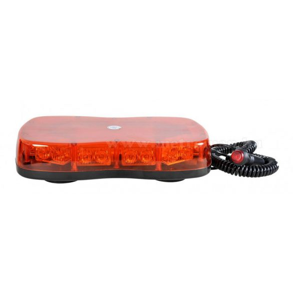 Megkülönböztető jelzés , villogó, mini fényhíd, narancs 12/24V, LED, MM-7984