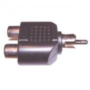 RCA - 2RCA elsosztó adapter, csatlakozó AC-016