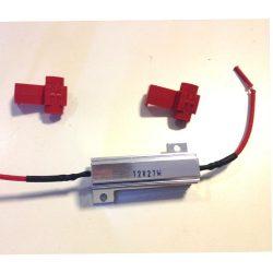 Ellenállás, műterhelés LED izzókhoz, 27 Watt, AV27W