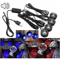 Autó RGB LED belső világítás dekor és Diszkó fényeffekt MD3437RGB