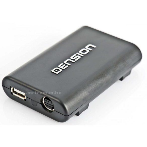 Autó rádió USB AUX adapter, digitális médialejátszó, Dension Gateway Lite 3