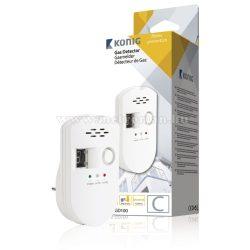 Gázdetektor, gáz szívárgás jelző és riasztó készülék, SAS-GD100