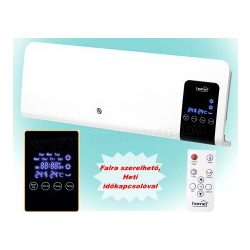 Elektromos ventilátoros programozható fali fűtőtest FKF 59201 PTC