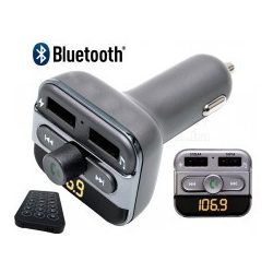 USB/SD MP3 FM transzmitter és Bluetooth kihangosító és zenelejátszó FMBT PRO