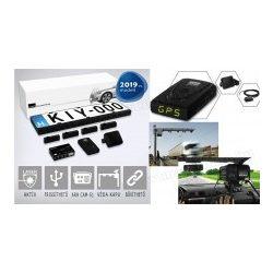 Komplett traffipax védelem rendszer, Lézerblokkoló és GPS radar jelző  KIYO Ultimate AP4R GPS
