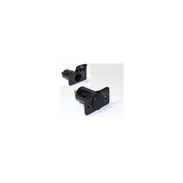 Beépíthető szivargyújtó csatlakozó aljzat, gumi kupakkal