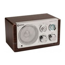 Retró asztali rádió, König HAV-TR1100