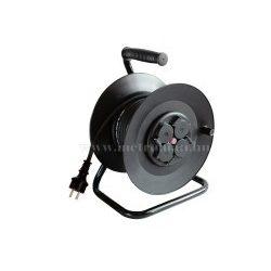 230 V-os hosszabbító kábel, 30 m-es gumírozott vezetékkel, kábeldobbal HRJ 10-30
