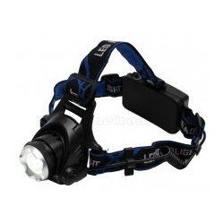Tölthető, LED-es, fém fejlámpa HLM5R