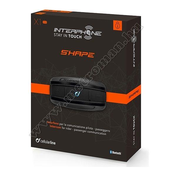 Motoros Bluetooth kihangosító és headszett, Interphone SHAPE Twin Pack