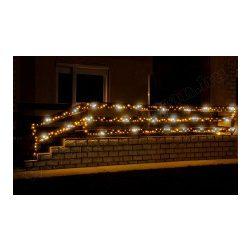 Karácsonyi, kültéri LED-es égősor, fényfüzér, sziporkázó KKL 200F/WH