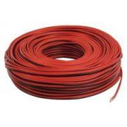 Hangszóróvezeték 2 X 1,5 piros-fekete 10 méteres
