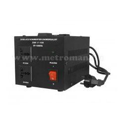 Feszültség átalakító konverter 230V/110V 1000W , KN1000