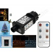 Hálózati távirányítós adapter fényfüzérekhez KNA 9W REMOTE