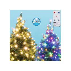 Karácsonyi kültéri LED égősor fényfüzér DUAL COLOR LED 202R/WW/M