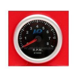 Autós sportműszer, fordulatszám mérő, LED7705BK