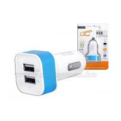Autós, dupla USB töltő 3,1 Amper  LTC G252