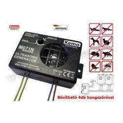Ultrahangos állítható frekvenciájú kisállatriasztó Kemo M071N