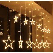Karácsonyi LED fényfüzér csillag M1317LED