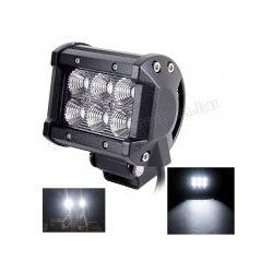 Autó LED fényszóró, LED munkalámpa 18 Watt M2431