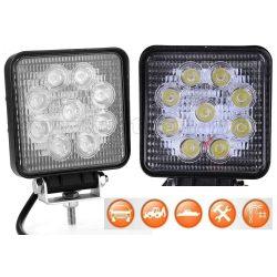 Autó LED fényszóró, LED munkalámpa 22W M5027