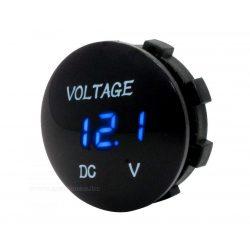 Digitális  feszültségmérő, vízálló, 3-30 Volt DC, Mlogic M8178L