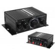 Autós mini erősítő, MP3 bemenettel MAK-170