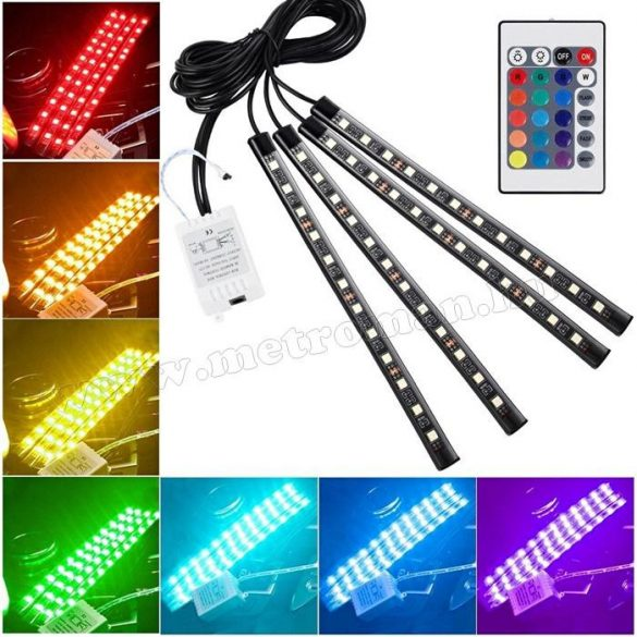 Autós RGB LED belső világítás MD65
