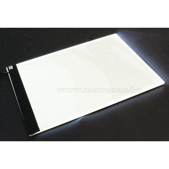 LED rajztábla A4 USB MG633