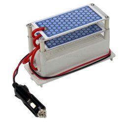 Ózongenerátor alkatrész, tápegység 2 db ózonlappal  12 Volt MC2516-12V-10G