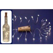 Micro LED-es elemes fényfüzér MLD 20/WW