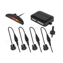 Tolatóradar Extra szenzorral, LED kijelzővel MM-0104B fekete