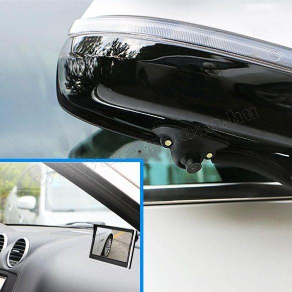 Autós tolatókamera első-hátsó kamera móddal Mlogic  MM-0749