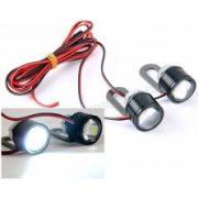 Mini fémházas LED stroboszkóp lámpa szett, Mlogic MM-1033