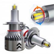Autós H7 LED fényszóró izzó szett 30 W MM1055LW