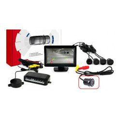 Tolatóradar és tolatókamera szett LCD monitorral MM2265-HD307