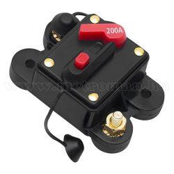 Autós automata biztosíték 12-48 Volt 200 Amper MM3776