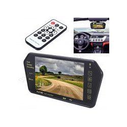 "Autós USB/SD Bluetooth MP3/MP5, 7"" LCD tükör monitor MM-5173BT"