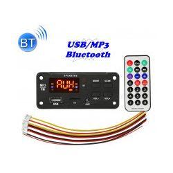 Beépíthető USB/SD és Bluetooth MP3 modul Mlogic MP2267-BT-12V